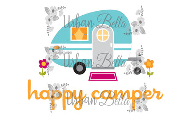 Happy Camper Campling Sublimation png file