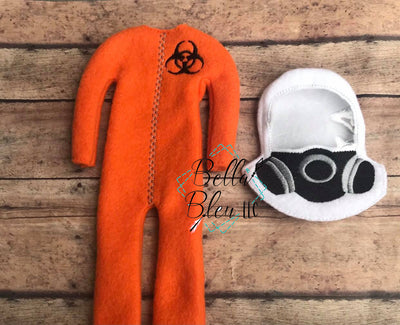 Elf Hazmat Suit with Mask