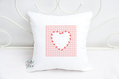 Heart Stipple Quilt Stipple Quilting Stitch Machine Embroidery Design ITH