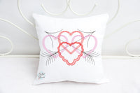 Valentines Day Heart & Arrow Embroidery design