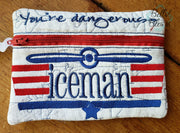 ITH Iceman Pilot Zipper bag wallet
