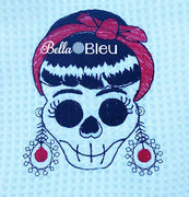 Vintage Rockabilly Embroidery design, Urban Skull Rockabilly Design, Machine Embroidery Design, Retro Urban Embroidery Design, Mardi Gras