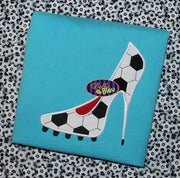 Sexy Soccer Stiletto Heels Heel Applique Embroidery Designs Design Monogram