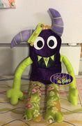 ITH in the hoop Adorable Monster Stuffie Stuff Applique machine embroidery
