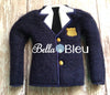 ITH Elf Policeman Uniform Jacket In the Hoop Machine Embroidery Design
