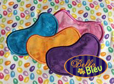 Jellybeans Embroidery Applique design Easter machine embroidery