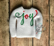 "ITH Elf ""Joy"" Sweater Shirt"