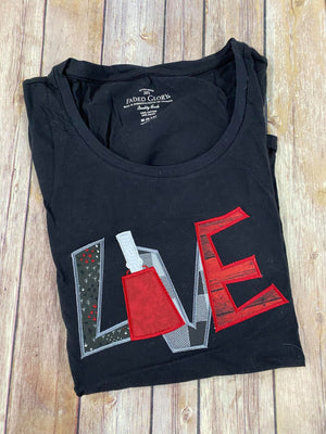 Love with Cowbell Tee shirt