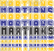 Stacked Martians Team Name Sublimation File