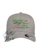 Massage Hair Don't Care Baseball Hat Cap Machine Embroidery Design