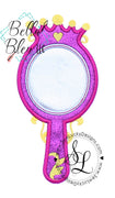Princess Mirror Applique