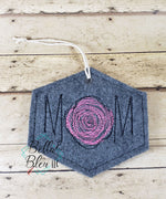 ITH Scribble Mom Christmas Ornament