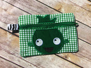 In the Hoop Zipper Wallet Monster
