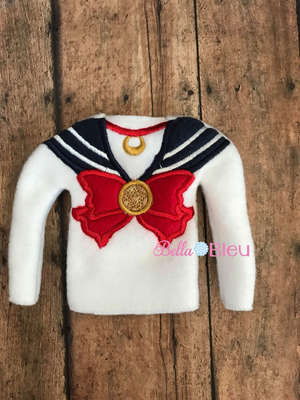 ITH Inspired Sailor Moon Sweater Shirt machine embroidery design