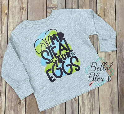 Mr Steal your Eggs Easter Shirt
