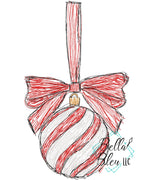 Hanging Christmas Ornament Scribble