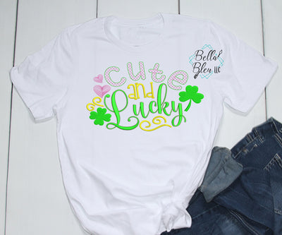 Cute and Lucky St Patricks Design