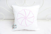 Pinwheel Quilt Block Quilting Stitch Machine Embroidery Design