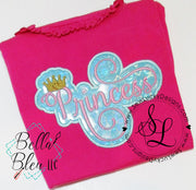Princess Patch Applique