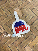 Republican Elephant Key Fob ITH
