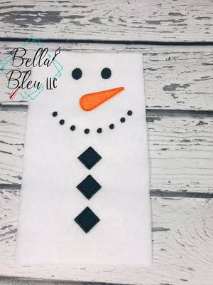 Snowman Applique Pieces