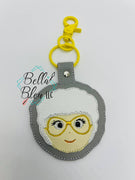 In the Hoop Inspired Golden Girls Sophia Key Fob