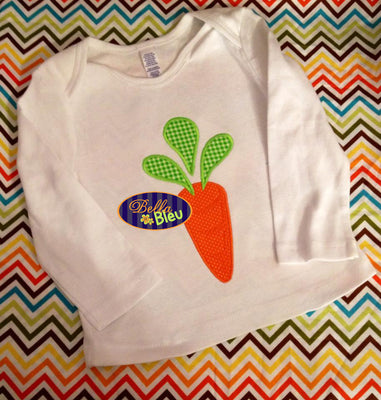 Cute Easter Carrot Embroidery Applique design Easter machine embroidery