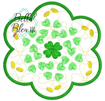 ITH St Patrick's Day Candle Mat