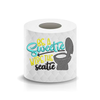 Be a Sweetie Toilet Paper Funny Saying Machine Embroidery Design sketchy