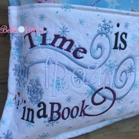 Inspired Frozen Time is frozen in a book Reading Book Quote