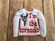 Inspired Yellowstone I am the tornado  ITH Elf Shirt