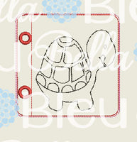 Ith Sea Turtle Coloring Page Pages machine embroidery design