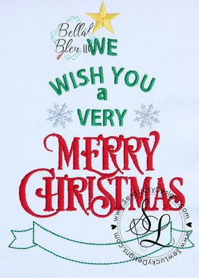 Very Merry Christmas Saying