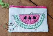 ITH Watermelon Wallet Zipper bag wallet