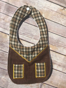 ITH In The hoop Western Cowboy Bib machine applique embroidery design
