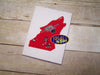 Mystic Wolf Head Silhouette Embroidery Applique Design