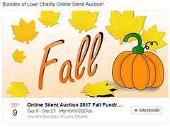 Fall Bundles of Love silent auction