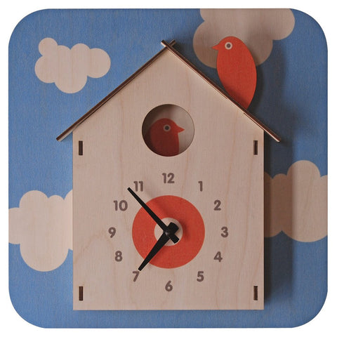 3D Birdhouse Clock