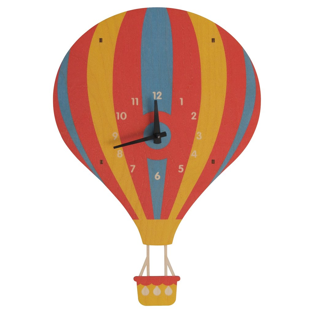 3D Pendulum Hot Air Balloon Clock