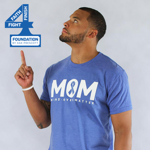 Dak Prescott T-Shirt | Faith Family Fight Foundation | Stand Up For Cancer
