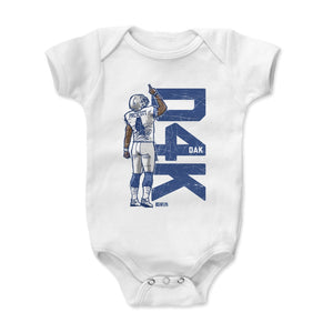 Dak Prescott Kids Baby Onesie | 500 LEVEL