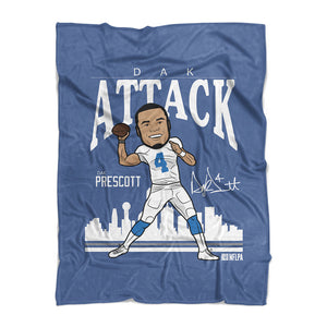 Dak Prescott Fleece Blanket | 500 LEVEL