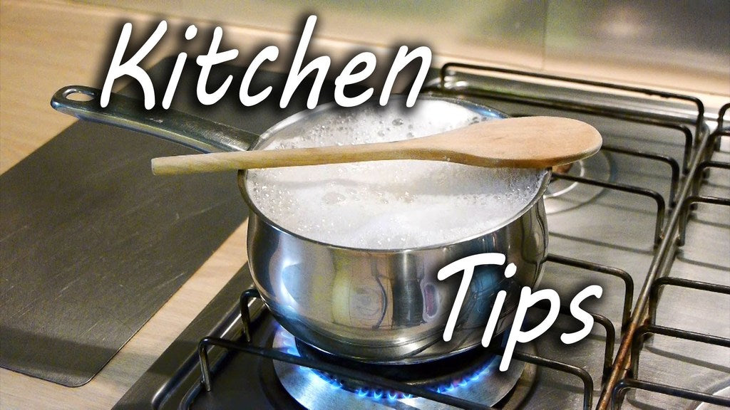13 Kitchen Hacks Every African Should Know
