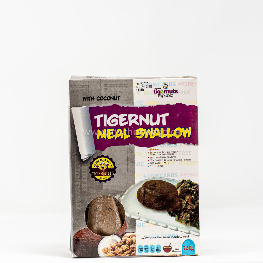 Tigernut and Coconut Meal Swallow (520g)