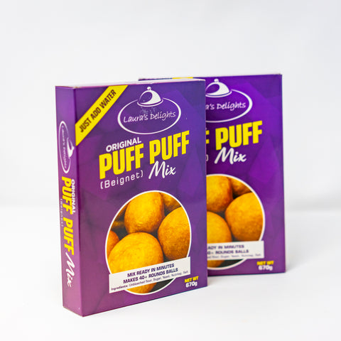 Laura's Delight Puff Puff - 670g