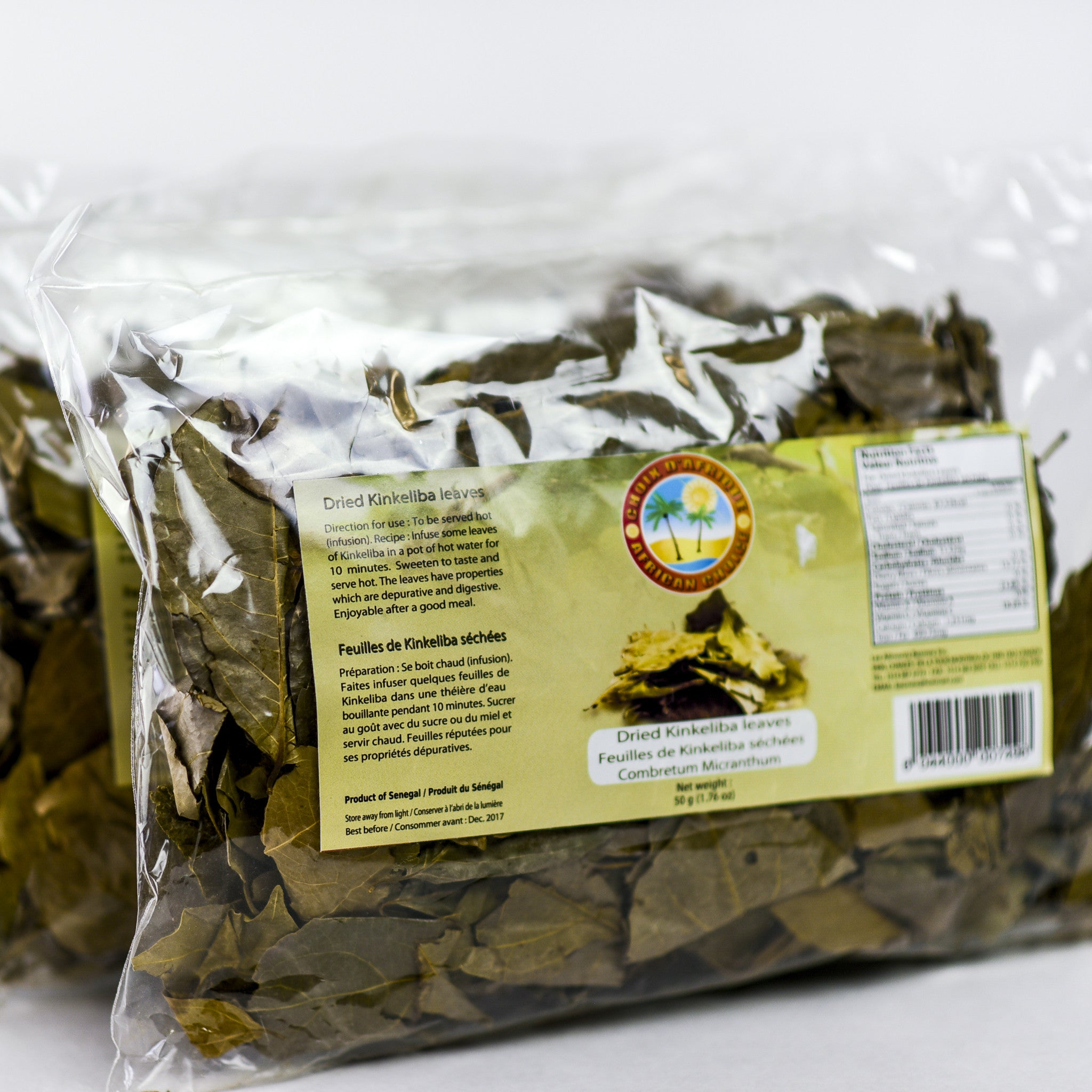 Dried Kinkeliba Leaves - 60g