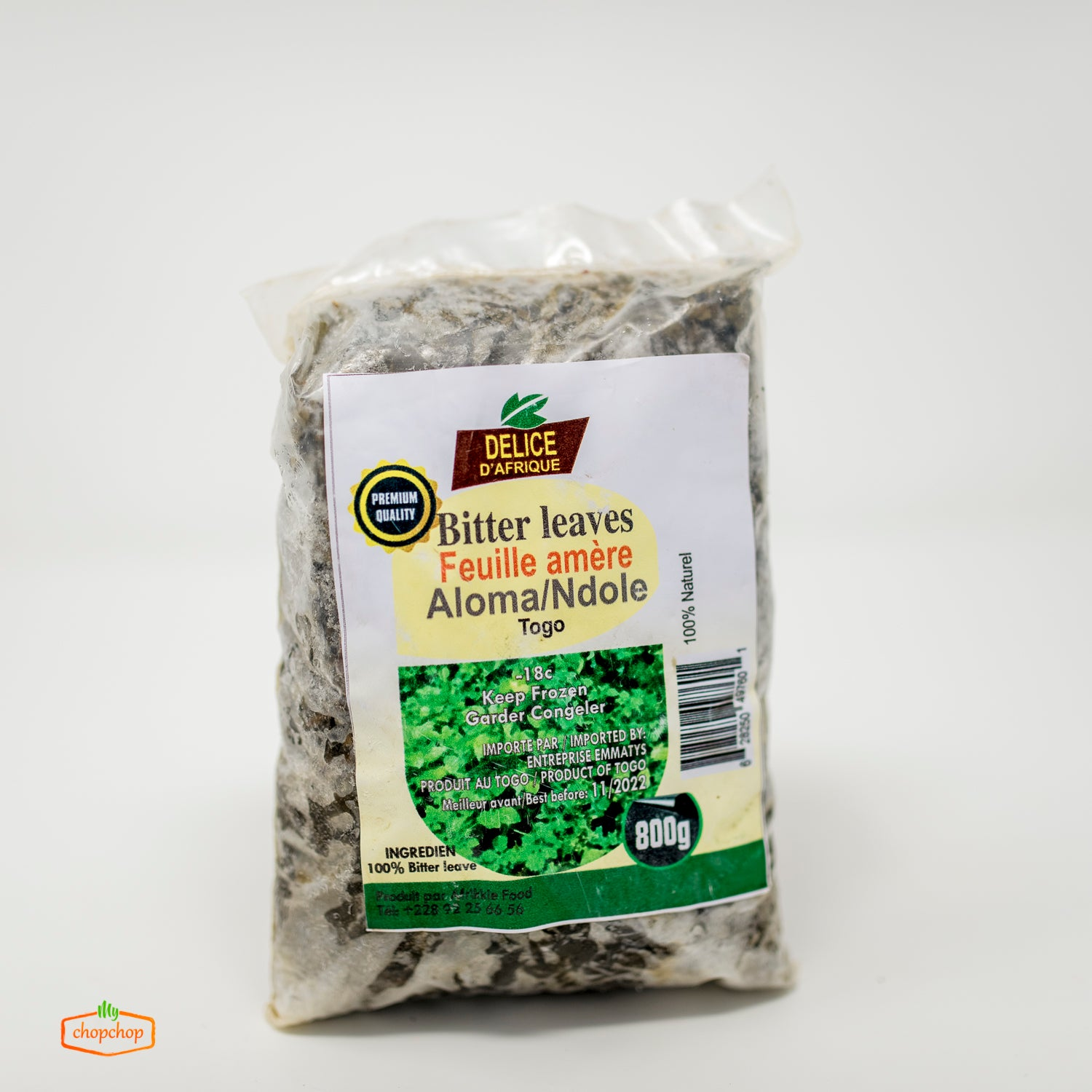 Bitter Leaves (800g)- Frozen