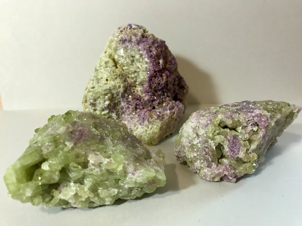 Vesuvianite (lrg raw cluster)
