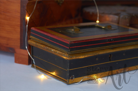 Antique English Cash Box (Small)