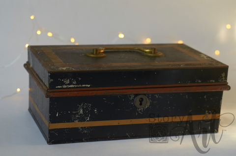 Antique English Cashbox (Large)